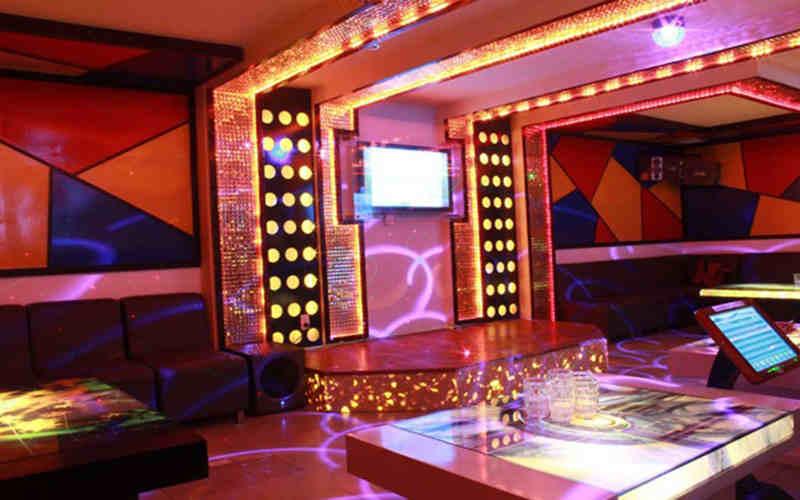 thi công nội thất phòng karaoke
