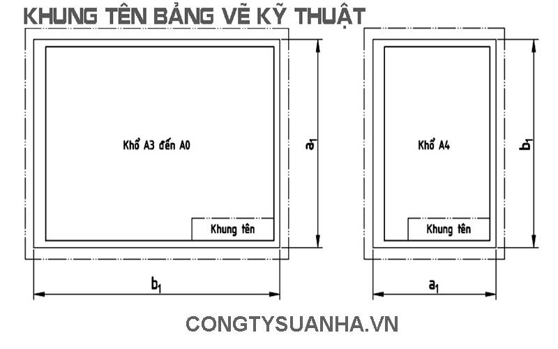 mẫu bản vẽ kỹ thuật
