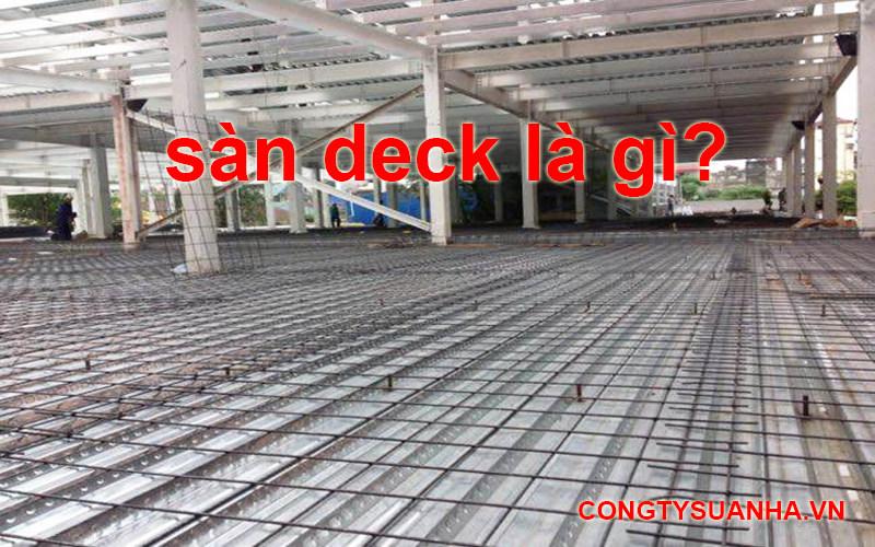 sàn deck là gì?