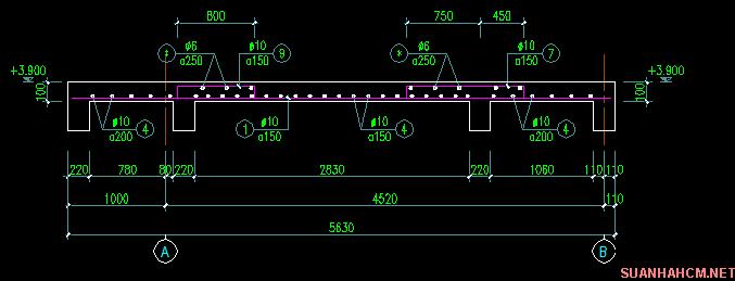 cách đan sắt móng nhà