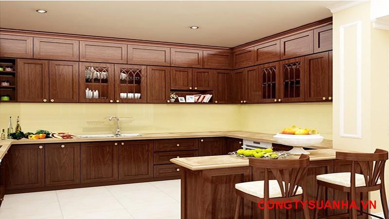 mẫu nhà bếp cấp 4
