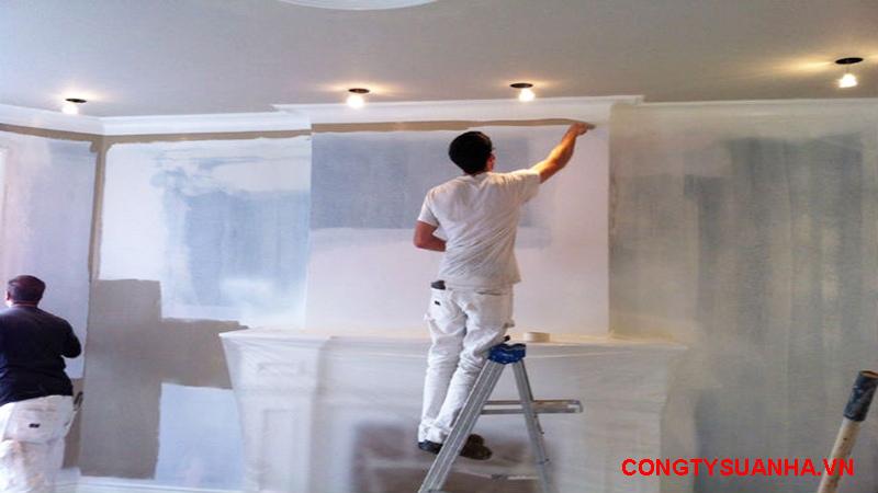 bảng dự toán sơn nhà