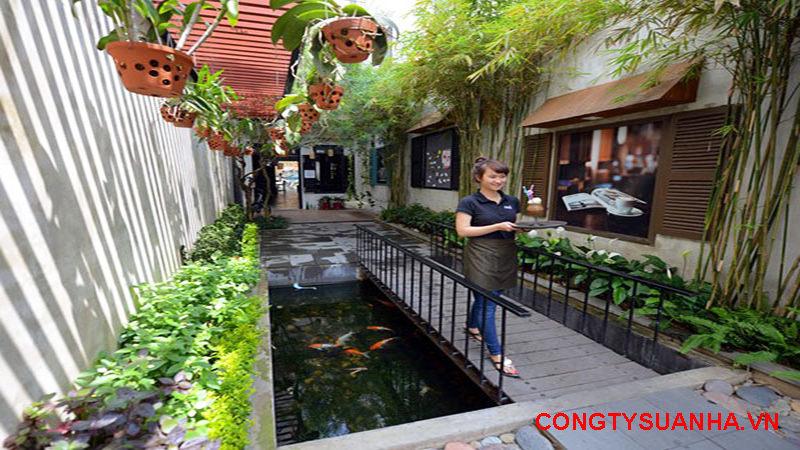 Chi phí mở quán cafe vườn đẹp